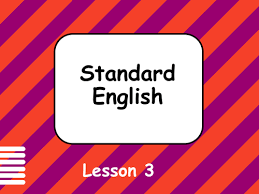 non standard english slang by baygum teaching resources tes