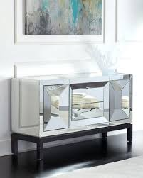 White Buffet Table by Sideboards Glamorous White Mirrored Credenza White Mirrored