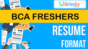 Resume Sample For Freshers Student Resume Bca Freshers Resume Sample Resume Resume Templates