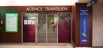 sncf bureau agence transilien gares connexions