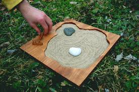 stunning mini zen rock garden miniature zen rock garden