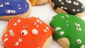 halloween monster cookies no equipment needed u0026 kids friendly