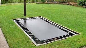 installing your own in ground trampoline xtreme trampolines