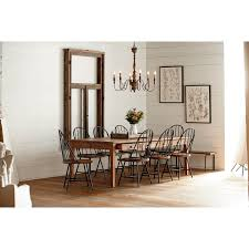 Restaurant Banquettes U0026 Wall Benches 10 Piece Dining Set With Hoop Windsor Chairs Bench And Storage