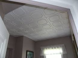Installing Ceiling Tiles by Decorative Ceiling Tiles Before And After Photos