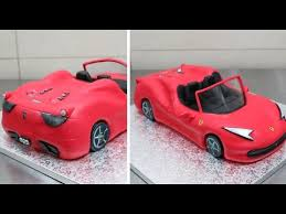 car cake how to a 3d cake by cakesstepbystep