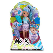 shop moxie girlz magic hair cotton candy style doll avery