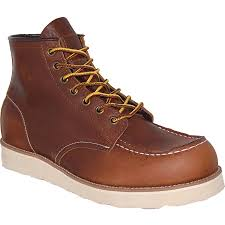 Rugged Outdoor Made Order Leather Rugged Outdoor Boot In Brown