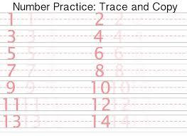 all worksheets number writing worksheets 1 20 printable