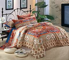 cliab moroccan bedding bohemian bedding sets full queen egyptian