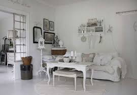 comely white family room with shabby chic interior style design