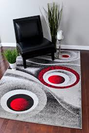 Modern Rugs For Sale 1504 Grey Gray 5x7 Area Rug Carpet Modern Abstract