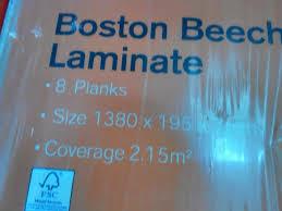 Beech Laminate Floor Homebase Beech Laminate Flooring In Wotton Under Edge