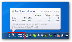 netspeed test monitor your speed using net speed monitor version