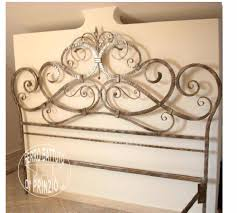 wrought iron beds double bed in wrought iron iron nightstands