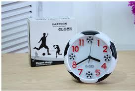 t harger horloge de bureau digital temperature led display alarm clock sounds football