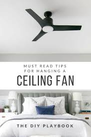 what i learned installing a ceiling fan all by myself