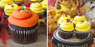pretty thanksgiving cupcakes bake sale toronto