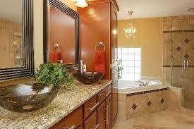 small bathroom design ideas color schemes orange bathroom photos hgtv arafen
