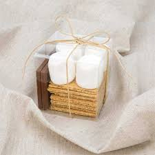 smores wedding favors how to make a s mores kit wedding or party favor clearbags