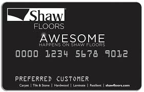 floor and decor credit card financing shaw floors