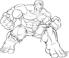 incredible hulk smash coloring pages corpedo com