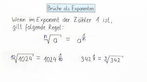 br che umformen brüche als exponenten 1 mathematik lernen