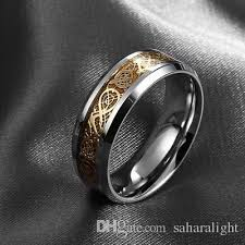metal male rings images Hot sale valentine 39 s day dragon 316l stainless steel ring mens jpg
