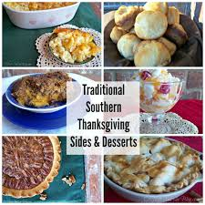 o taste and see traditional southern thanksgiving sides and