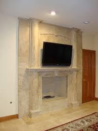 Travertine Fireplace Tile by Medium Travertine Fireplace Surrounds 2621 Medium Travertine