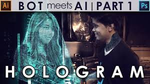 bot meets ai part 1 how to create hologram in adobe photoshop