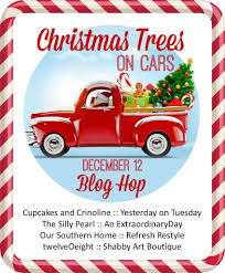 Southern Home Decor Blogs Christmas Decorating With Cars Our Southern Home