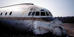 bureau location casablanca crash of an ilyushin ii 18 in casablanca bureau of aircraft