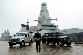 navy land rover land rover defender in the royal navy