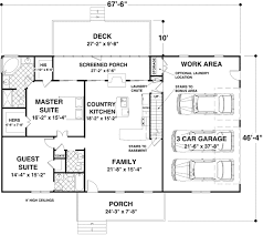 1500 square floor plans versatile ranch in mutiple versions 20075ga architectural
