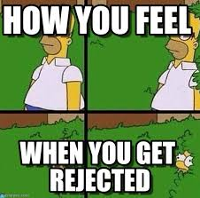 Rejected Meme - how you feel homer meme on memegen