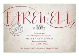 farewell party invitation vintage sendoff party invitations by invitation consultants ic