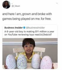 Grown Baby Meme - dopl3r com memes vaun and here l am grown and broke with games