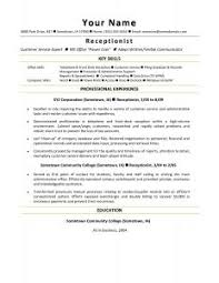 Resume For Receptionist No Experience Top Dissertation Hypothesis Editing Websites Usa Cheap