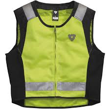 reflective bike jacket rev u0027it athos air motorcycle bike hi viz reflective lightweight