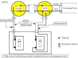 bathroom fan using switch loop electrical diy chatroom home