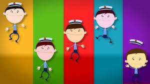 five little policemen kids tv nursery rhymes s01ep261 youtube