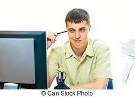 employé de bureau employé bureau patron photos de stock rechercher des