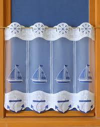 fish macrame lace curtain
