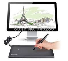 Excepcional Mesa Digitalizadora h1060 6 Huion h610 PRO art usb gráficos tablet  &MF46