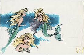 original disney ariel mermaid concept art wattpad