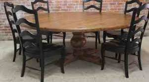 rustic round pedestal dining table round dining table for 8 outdoor round pedestal farmhouse dining