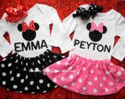 minnie mouse pink dress birthday skirt