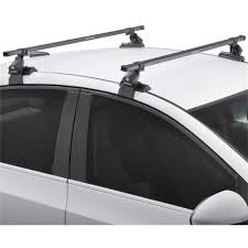 nissan frontier roof rack sportrack sr1010 bare roof rack system 50 5 inches black