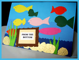 fish birthday card craft all that magic